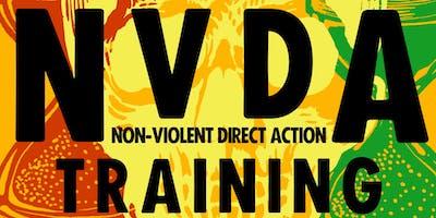NVDA training: Non Violent Direct Action