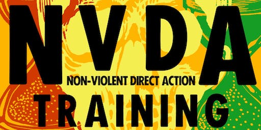 NVDA training: Non Violent Direct Action