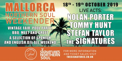 Mallorca Northern Soul Weekender