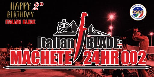 Italian BLADE: MACHETE 24HR 002