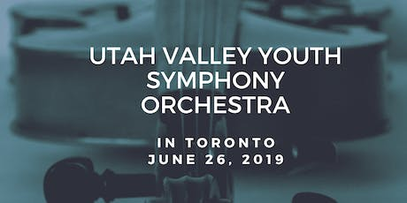 Utah Valley Youth Symphony tickets