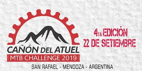 Cañón del Atuel MTB Challenge 2019 entradas