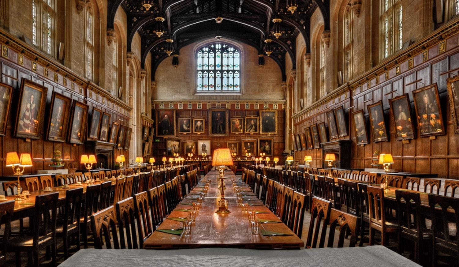 A Harry Potter Dinner at Christchurch College Oxford