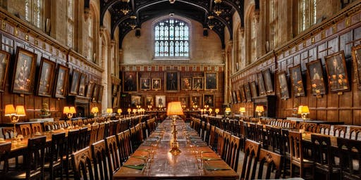 A 'Harry Potter' Dinner at Christ Church College Oxford