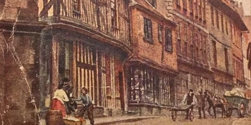 Ghouls,Crypts and White Walkers. A talk on the stranger aspects Shrewsbury's past.