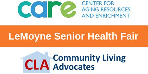 LeMoyne Senior Health Fair - Vendor Information