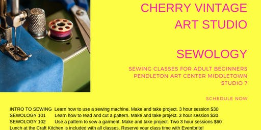 Sewology Beginner Sewing Classes