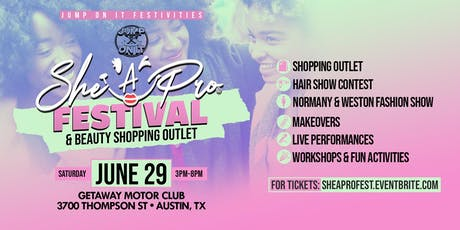 She A Pro Festival & Beauty Shopping Outlet tickets