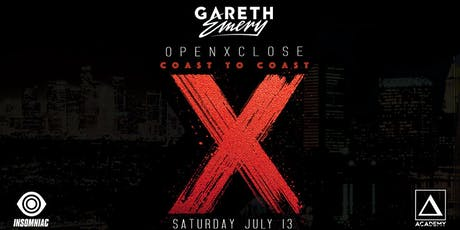 Gareth Emery Open x Close Set tickets