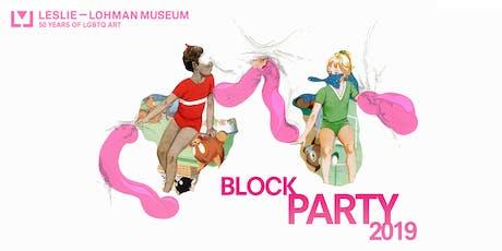 Leslie-Lohman Block Party tickets