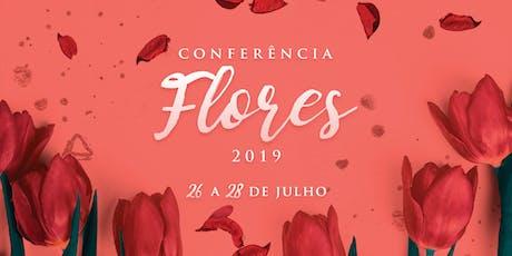 Conferência Flores 2019 ingressos