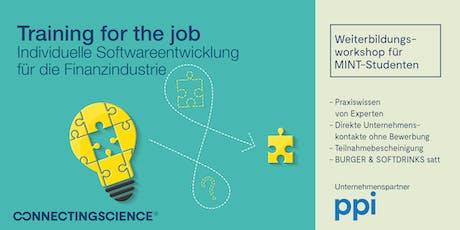 """SCRUM-Workshop """"Digital Finance"""": Deine Skills für IT & Softwareentwicklung tickets"""