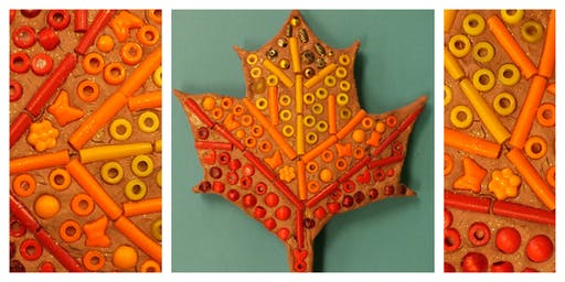Mommy's Time Off- Clay Factory: Fall Mosaics (3-9 Years)