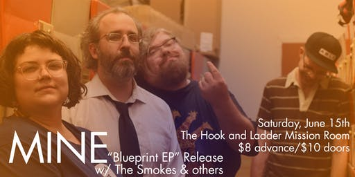 MINE (EP Release) with The Smokes & New Rocket Union