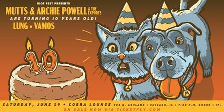 Mutts and Archie Powell & The Exports tickets