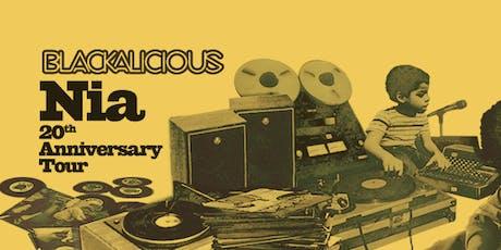 Blackalicious - Nia 20th Anniversary Tour tickets