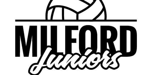 Milford VB - Hitting & Blocking Skills (7th-12th Grades)