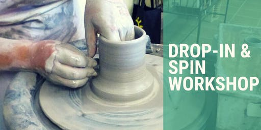 Drop-In & Spin Workshop | Pottery on the Wheel