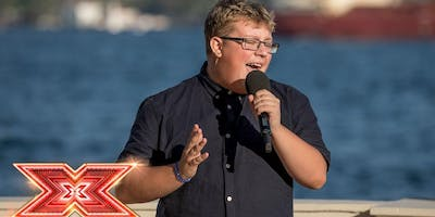 Jack Mason LIVE as seen on the X Factor