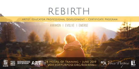 REBIRTH: Artist Educator Professional Development - Certificate Program tickets