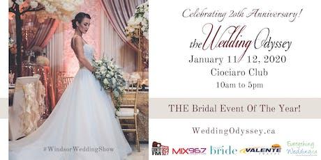 Wedding Odyssey bridal expo tickets