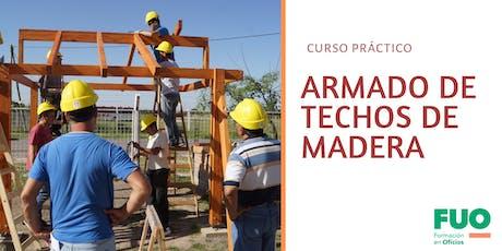 Curso Práctico Armado de Techos de Madera entradas