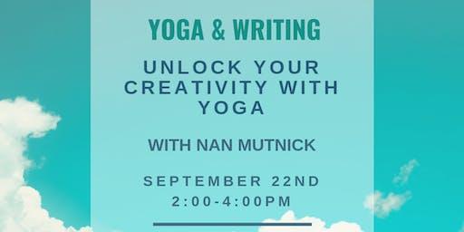 YOGA & WRITING: Unlock Your Creativity with Yoga