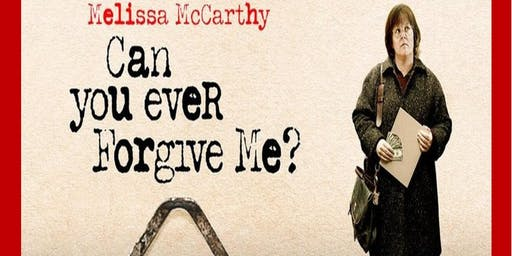 Movie: Can You Ever Forgive Me?