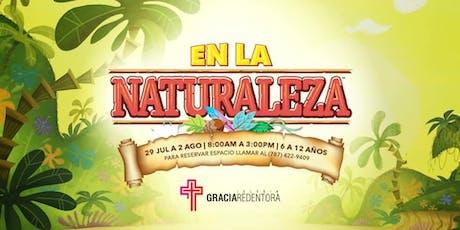 Campamento de Verano: En la Naturaleza tickets