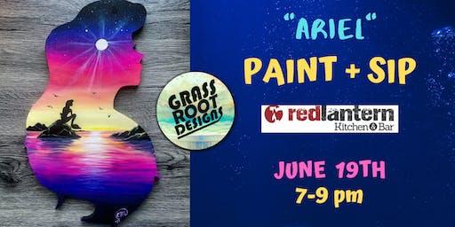 Ariel| Paint Night at Red Lantern