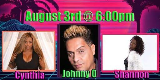 Shannon, Johnny O & Cynthia - Divas Of Freestyle Beach Series