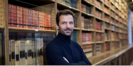 Maxime Rovere -auteur du livre Le clan Spinoza - Entretien tickets