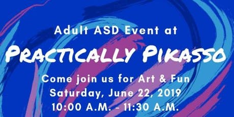 Adult ASD Event at Practically Pikasso tickets