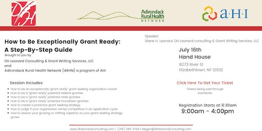 How to Be Exceptionally Grant Ready: A Step-By-Step Guide - Essex County