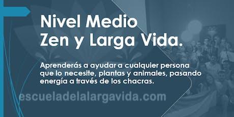 Nivel Medio Zen, Montevideo: 20,21 y 22 Junio. entradas