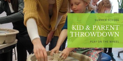 Kid & Parent Throwdown | Pottery Wheel Workshop