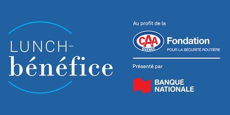 Lunch-bénéfice 2019 de la Fondation CAA-Québec tickets