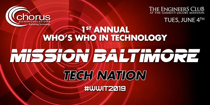 Who's Who In Technology-Mission Baltimore image
