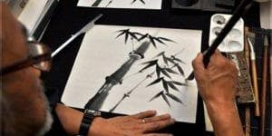 Adult Sumi-E (Japanese Ink) Painting Classes - Toronto