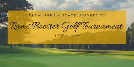 Framingham State Rams Booster Golf Tournament - 2019  tickets