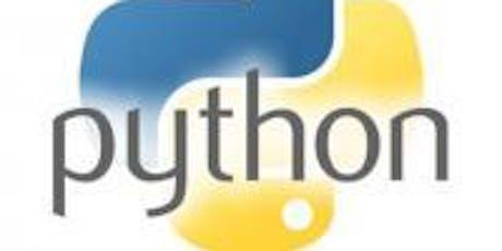Python Coding TinkerShop tickets