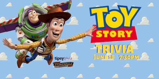Toy Story Trivia - June 18, 7:30pm - Stonewalls Hamilton
