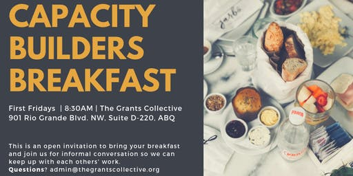 First Friday: Capacity Builders Breakfast