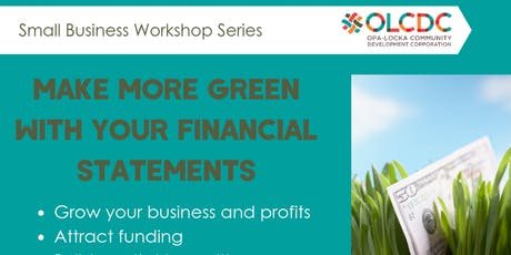 Make More Green With Your Financial Statements tickets