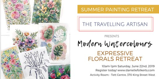 Modern Watercolours: Expressive Florals Retreat