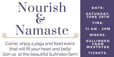 Nourish and Namaste - A Food and Yoga Event tickets
