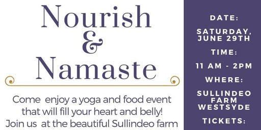 Nourish and Namaste - A Food and Yoga Event
