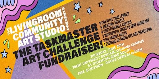 The LivingRoom's Taskmaster Art Fundraiser!