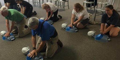 Friends & Family ASHI CPR/AED - Friday, July 12th 2019