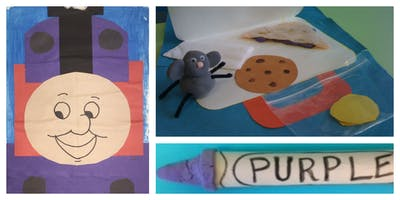 Storybook Art Weekly Class (18 Months-6 Years)